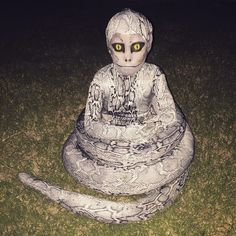 This worryingly good snake costume made by a mom for her daughter. The 23 Greatest Costumes Of Halloween 2015