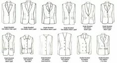 Types of Jackets, text, suits, clothes; How to Draw Manga/Anime