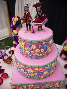 Una decoración de boda al puro estilo andino Image: 6