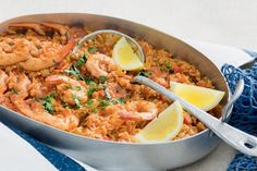 This Creole rice dish shines with cajun spices, prawns and crispy chorizo.