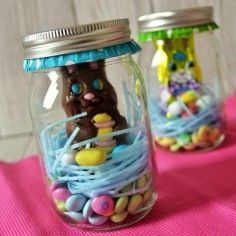 Easter gift ideas google search crafts pinterest easter easter jars for kids negle Images