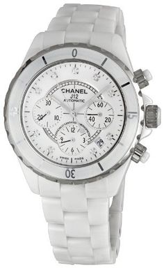Chanel Men's H2009 Chanel J12 Sport White Dial Watch CHANEL. $6068.00. Case diameter: 41 mm. Automatic movement. Ceramic case. Durable sapphire crystal protects watch from scratches. Water-resistant to 660 feet (200 M). Save 31% Off!