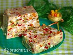 Egg terrine - step by step - No Salt Recipes, Cooking Recipes, Scary Food, Best Pancake Recipe, Cold Dishes, Brunch Buffet, Czech Recipes, Party Finger Foods, Hungarian Recipes