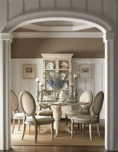 Beautiful French Country Dining Room Ideas (22)