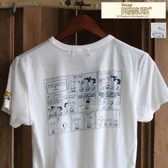 """画像1: Snoopy """"コミック""""刺繍&プリントTEE"""