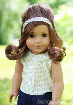 Cool Doll Hairstyles American Girl Place And Braid Hair On Pinterest Short Hairstyles Gunalazisus