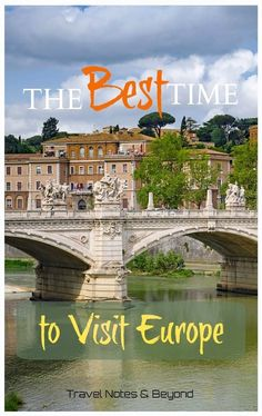 Trying to figure out the best time to visit Europe can be confusing. Everybody wants to travel to Europe when the sky is blue, but weather is not the only Europe Destinations, Europe Travel Tips, European Vacation, European Travel, Europe In December, Honeymoon Tips, Regions Of Europe, Europe Holidays, World Travel Guide