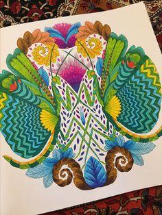 Praying Mantis Curious Creatures By Millie Marotta CreaturesPraying MantisColoured PencilsColouring TechniquesAdult ColoringColoring
