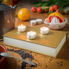 Sunshine in a candle - Lady Grey Tea scented handmade vegan candle Scented Tea Lights, Scented Candles, Lady Grey Tea, Vegan Candles, Mollie Makes, Wax, Awards, Sunshine, Handmade