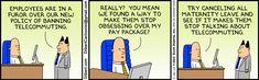 Dilbert: change management tactics