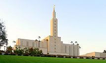 Los Angeles Temple. Visited this temple on a band tour in high school.