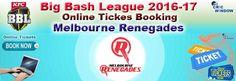Big Bash League 2016-17 Tickets =============================== http://www.cricwindow.com/big-bash-league-2016-2017/melbourne-renegades-tickets.html