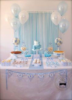 Trendy baby shower ides for girls centros de mesa simple Ideas Deco Baby Shower, Baby Shower Table, Baby Shower Favors, Shower Party, Baby Shower Cakes, Baby Shower Parties, Baby Shower Themes, Baby Boy Shower, Shower Ideas