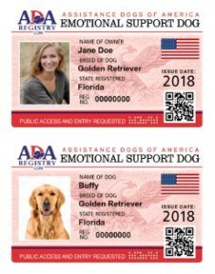 Assistance Dog Registry Register Your Dog Online Instantly Dogs Online Emotional Support Dog Assistance Dog