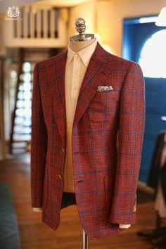 Ariston always have exquisite jacket fabrics in their bunches, regardless of season.
