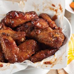 These crispy, flavor-packed fried chicken wings from Chef Keith Kornfeld are outstanding with his Cajun-Asian Sweet Chili BBQ Sauce.