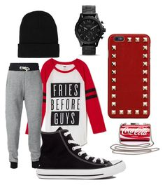 Untitled #3 by brooklynp523 on Polyvore featuring polyvore, fashion, style, Converse and Valentino