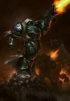 banner bolter bolt_pistol cribs dark_angels imperium space_marines