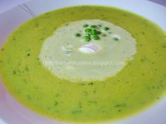 Supa crema de mazare Cheeseburger Chowder, Cantaloupe, Food And Drink, Cooking, Healthy, Ethnic Recipes, Soups, Bebe, Kitchen