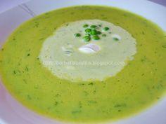 Supa crema de mazare Cheeseburger Chowder, Food And Drink, Cooking, Healthy, Ethnic Recipes, Soups, Chowder, Bebe, Kochen