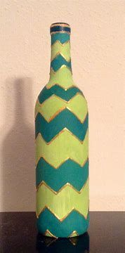 Image result for Painted Wine Bottles #paintedwinebottles