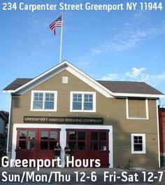 Greenport Brewery location