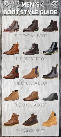 VISIT FOR MORE A Guide to Mens Boot Styles learn more at www.findyourboots The post A Guide to Mens Boot Styles learn more at www.findyourboots appeared first on Dress. Men's Shoes, Shoe Boots, Men Boots, Casual Boots For Men, Swag Shoes, Casual Bags, Style For Men Casual, Men Dress Shoes, Mens Casual Dress Shoes