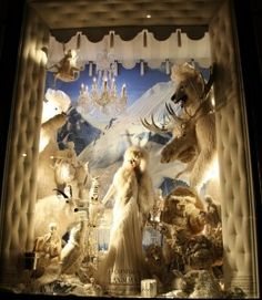 Habitually Chic® » Bergdorf Goodman Holiday Windows 2011