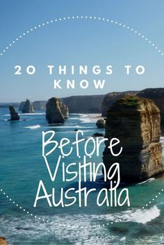Traveling to Australia is an exciting experience, but if you're thinking of going these 20 Australian tips are sure to make your trip go smoother. 20 Things You Should Know Before Visiting Australia - Universal Jetsetters Tasmania Australia, Visit Australia, Australia Trip, Australia Honeymoon, Study Abroad Australia, Melbourne Australia, Western Australia, Australia Shopping, Australia Winter