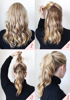 Fake a Fuller Ponytail by Doing the Double-Ponytail Trick - 16 Hairstyling Hacks Every Girl Should Know