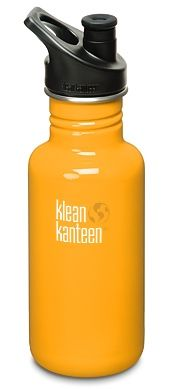 Klean Kanteen 18 oz in 'Golden Poppy' is putting up a good fight in the race for my new favourite water bottle.
