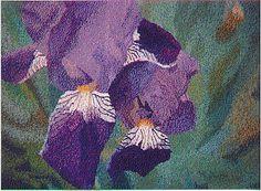 Purple Prayer handwoven tapestry Collection of Emily Martinello, Ontario, Canada Fibre Art, Tapestries, Ontario, Prayer, Hand Weaving, Canada, Purple, Painting, Collection