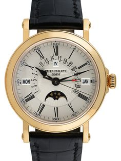 Patek Philippe Perpetual Calendar Retrograde Watch, 38mm from Vintage Watches Feat. Patek Philippe on Gilt