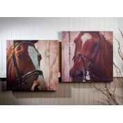 Horse Couple Canvas Art...