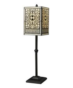 Another great find on #zulily! Bronze Tiffany Adamson Table Lamp #zulilyfinds $94.99