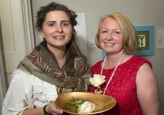 Flowergirl meets Julie Gaskell-Johnson at the Cooper 100 launch