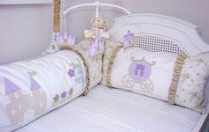 Kit de berço Princesa - Minimimos Atelier