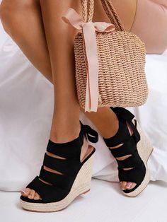 🍓 Μπλέ, μαύρες ή μπέζ? Και οι τρείς πλατφόρμες είναι υπέροχες! Αποκτήστε τώρα τις δικές σας!🍓   Γραμμή: κανονική... Blue Suede, Womens High Heels, Espadrilles, Wedges, Platforms, Shoes, Black, Oxfords, Fashion