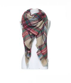 Image 2 of CHECKED SOFT SCARF from Zara