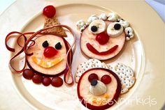 Learning about emotions? cultural diversity? Have kids make food faces.