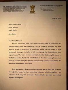 Man Of Peace, Guru Purnima, Amit Shah, Letter Addressing, Member Of Parliament, Foul Play, Nobel Peace Prize, Sushant Singh, The Clash