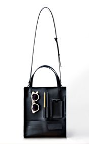 classic pocket bag-black