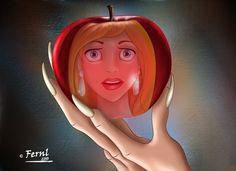 POISONED APPLE by FERNL.deviantart.com on @DeviantArt