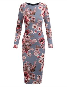 Y Women's Slim Fit Sandwich Dress Made In USA - best woman's fashion products designed to provide High Fashion Trends, All Fashion, Womens Fashion, Casual Dresses For Women, Woman Dresses, Dress Making, Fitted Dresses, High Neck Dress, Slim