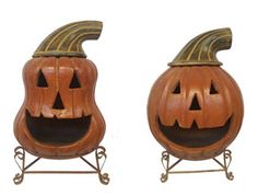 PP022 Large Pumpkin Chimenea Pallet Program