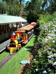 The Gold Reef City train, Johannesburg, South Africa.