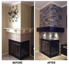 AirStone Spring Creek wall makeover