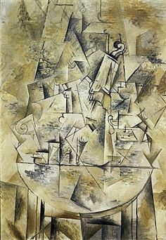 structural cubism - braque