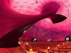 Ark Nova: Blow-up concert hall inflates in Japan | Crave - CNET