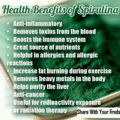 This is exactly why I keep coming back for more and more each day:))  spirulina